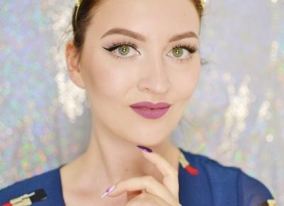 KLASYCZNA CZARNA KRESKA | #TUTORIAL | Agata Welpa MakeUp blog beauty