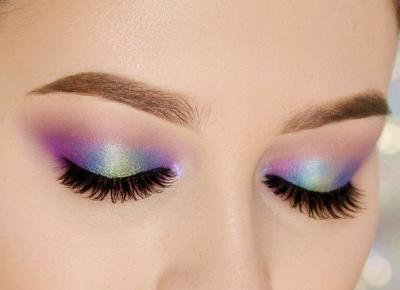 KOLOROWE, WIOSENNE SMOKEY EYE | #TUTORIAL | Agata Welpa MakeUp Blog Beauty- najbardziej kolorowy blog o makijażu.
