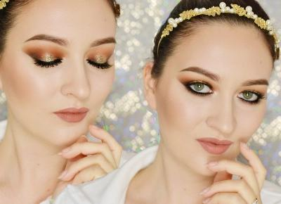 ZŁOTO NA OKU | #TUTORIAL | Agata Welpa MakeUp Blog Beauty- najbardziej kolorowy blog o makijażu.