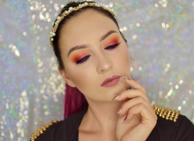 ZACHODZĄCE SŁOŃCE | MAKIJAŻ NA ZAKOŃCZENIE LATA | #TUTORIAL | Agata Welpa MakeUp blog beauty