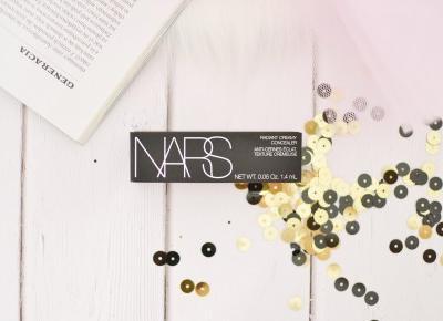 NARS KOREKTOR RADIANT CREAMY CONCEALER | Agata Welpa MakeUp blog beauty