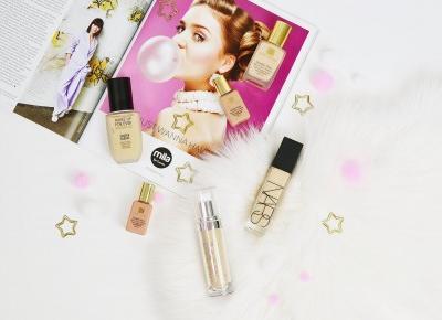 NAJLEPSZE DŁUGOTRWAŁE PODKŁADY | TOP 5 | Agata Welpa MakeUp Blog Beauty- najbardziej kolorowy blog o makijażu.