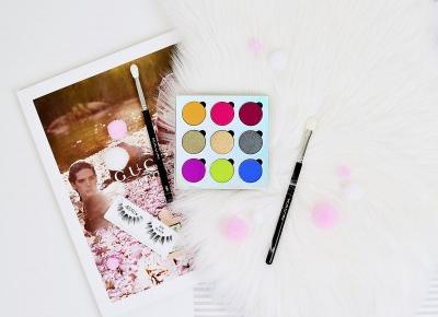KOBO PROFESSIONAL OVER THE RAINBOW | NOWA PALETA CIENI ZAPROJEKTOWANA PRZEZ DANIELA SOBIEŚNIEWSKIEGO  | Agata Welpa MakeUp Blog Beauty- najbardziej kolorowy blog o makijażu.