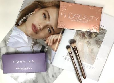 BITWA ( Competition ): NORVINA ANASTASIA BEVERLY HILLS VS. HUDA BEAUTY ROSE GOLD PALETTE