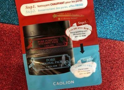 Jak zmniejszyć widoczność rozszerzonych porów: CAOLION Premium Hot&Cool Pore Pack Duo