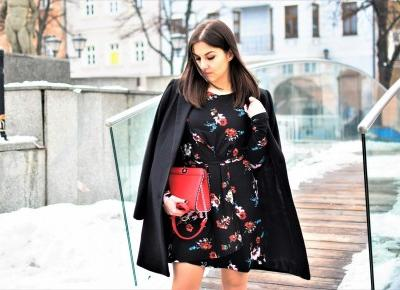 #LOOK OF THE DAY #FLORAL DRESS -  AGNESSSJA