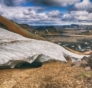Islandia dzień 5 (cz.1)- Góry tęczowe Landmannalaugar- wspinaczka na wulkan. | Never Ending Travel