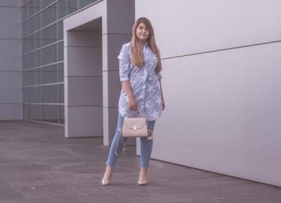 Jasne Jeansy Stylizacja        |         Feather - Mój Sposób Na Modę