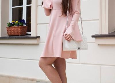 Bonprix Sukienka Ze Sznurowaniem  - Feather - Mój Sposób Na Modę