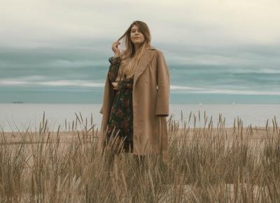 Beżowy Płaszcz Na Jesień          |          Feather - Mój Sposób Na Modę