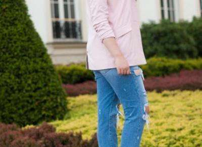 Boyfriend Jeans STYLIZACJA