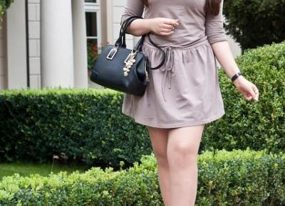 WowFashion Klasyczna Sportowa Sukienka