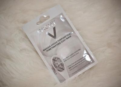 Vichy maska oczyszczająca pory z glinką - Feather - Mój sposób na modę