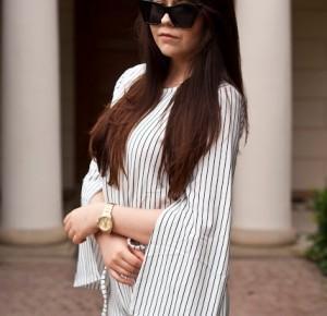 Feather - Mój sposób na modę : Kombinezon w paski / Jumpsuit Stripes fashion71.net