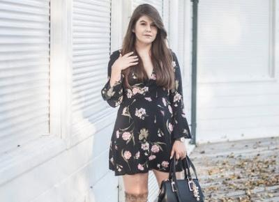 Feather - Mój Sposób Na Modę : Sukienka W Kwiaty Jesienią