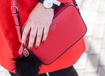 Czerwony Płaszcz - Feather - Mój Sposób Na Modę