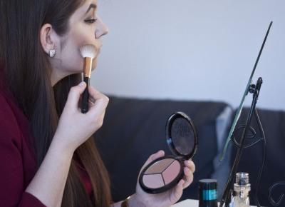 Eveline Cosmetics makijaż sywestrowo-karnawałowy  - Feather - Mój Sposób Na Modę