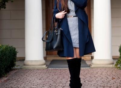Swetrowa sukienka / Sweater Dress - Feather - Mój Sposób Na Modę