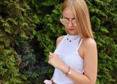 Różowe cygaretki | Biżuteria DEDICANTE