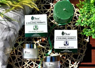 Ava Laboratorium krem do twarzy + na powieki i pod oczy z ekstraktem z zielonej herbaty