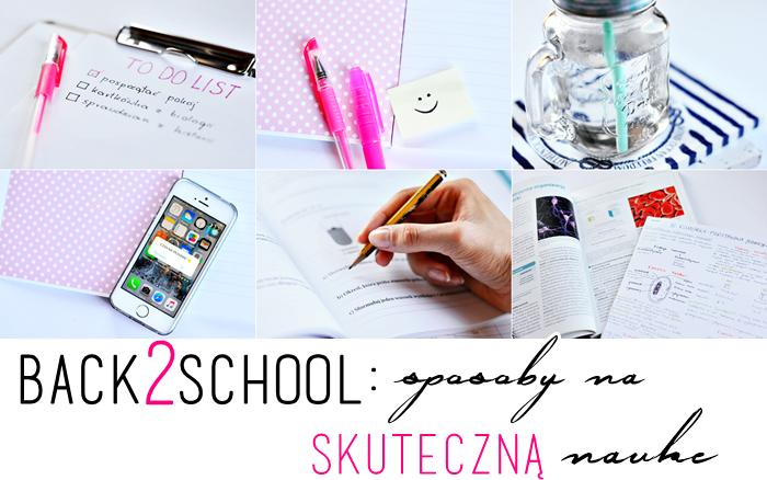 ALEXANDRA K: BACK TO SCHOOL - SPOSOBY NA NAUKĘ