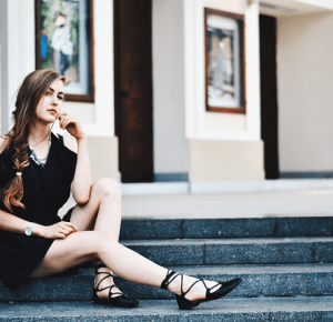 ALEXANDRA K: BLACK JUMPSUIT