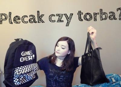 My school time #2  Plecak czy torba? | Amastria