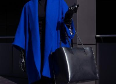 Alex Rose x Elena Ciuprina - Royal blue coat