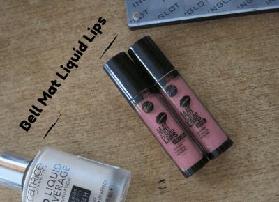 Pomadki Bell MAT LIQUID LIPS - Alice in wonderland