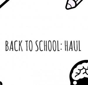 Back to school: HAUL! | Alice in wonderland