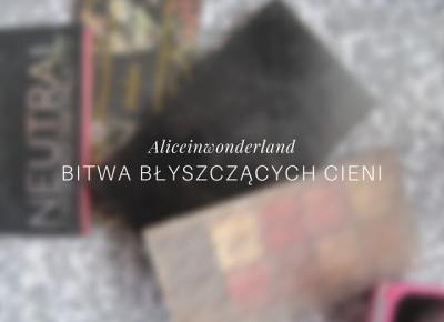 BITWA BŁYSZCZĄCYCH CIENI - Alice in wonderland