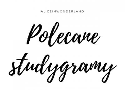 Polecane studygramy! - Alice in wonderland