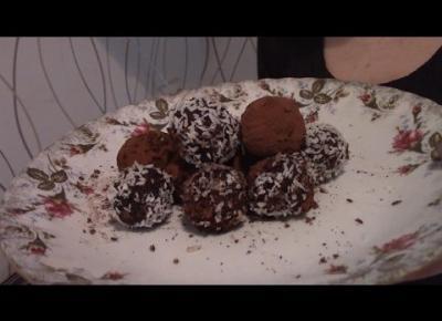 Fit Słodkość #1 - Trufle z Daktyli.