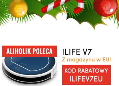 Robot sprzątający Chuwi ILIFE V5 PRO i ILIFE V7 z Gearbest - Recenzja - Aliholik.pl