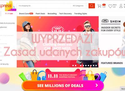 WYPRZEDAŻ na AliExpress! 7 zasad udanych zakupów! - Aliholik.pl