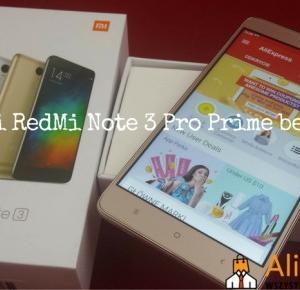 Xiaomi RedMi Note 3 Pro Prime z Aliexpress- Recenzja - Aliholik.pl