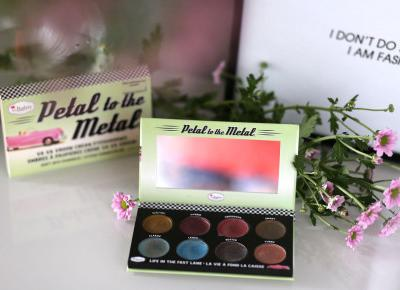The Balm Petal to the Metal Shift into Overdrive - moja opinia