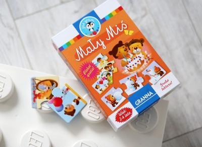 Granna Mały Miś - puzzle dla najmłodszych