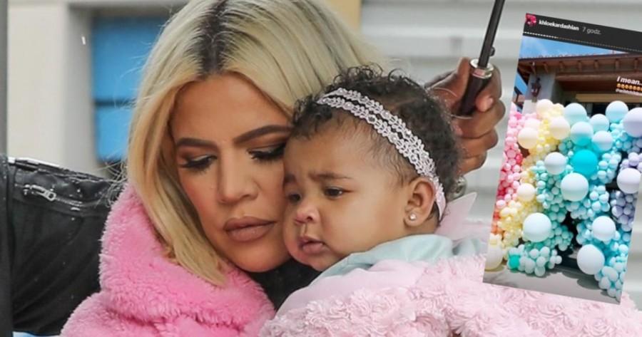 Bajkowe urodzinki córki Khloe Kardashian!