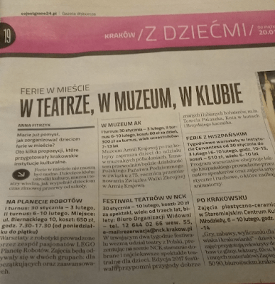 Le Royaume De Anna Natalia: Gazeta Wyborcza - Co Jest Grane 24