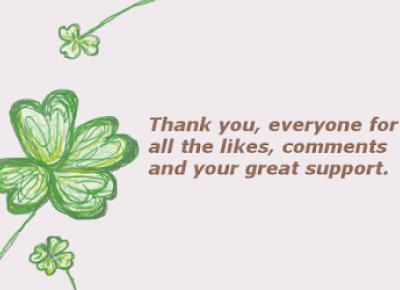 Le Royaume De Anna Natalia: Podziękowania dla czytelników i życzenia  na dzień matki