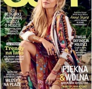 Andre Fashion: Blogerka modowa na okładce magazynu JOY!