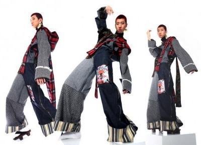 Kolekcje projektantów mody z Chin na Cracow Fashion Week