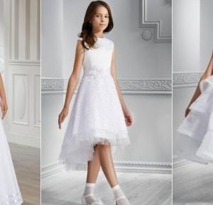 Andre Fashion: Idealna sukienka komunijna - skromna a zarazem elegancka!