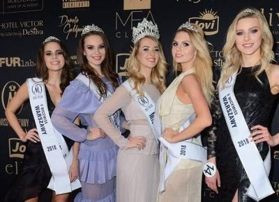 Tłumy gwiazd na wyborach Miss Warszawy w Teatrze Kamienica