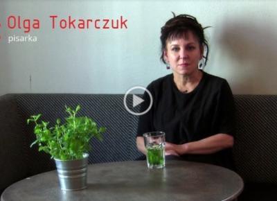 Olga Tokarczuk, noblistka, aktywistka w wyjątkowym spocie wideo!