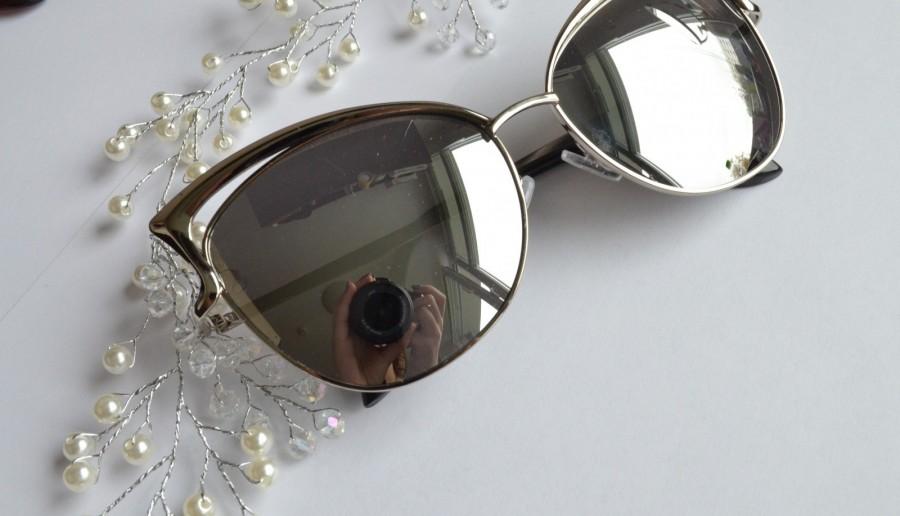 okulary cat eye