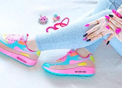 Candy Rapter Air Max Buty sportowe Candy Rainbow | FEMMIND.pl