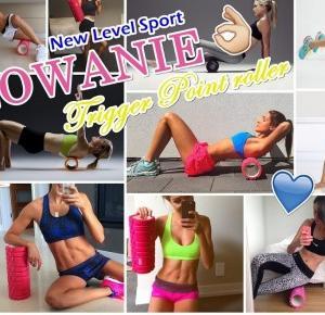 angegar: ROLOWANIE   Trigger Point roller z New Level Sport
