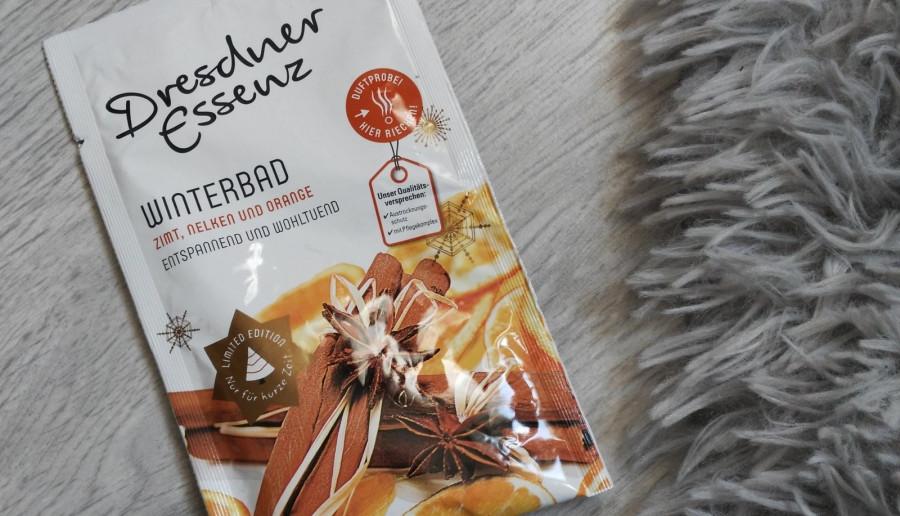 Dresdner Essenz-Puder do kąpieli, Winterbad, Zimt, Nelken und orange.